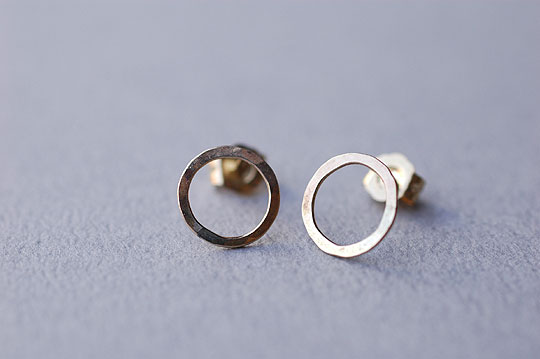 Round Post Earrings (Melissa Joy Manning) - SOURCE objects