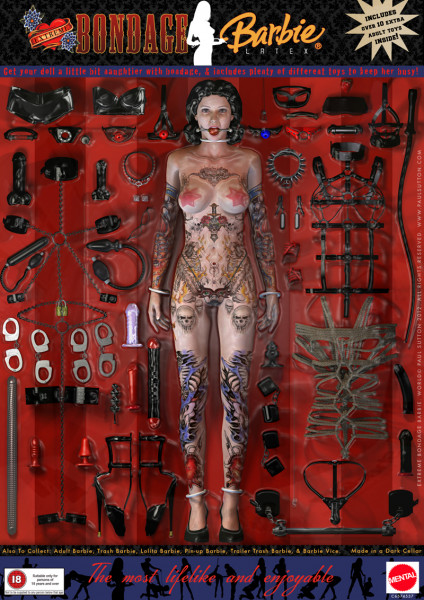 ADULT BARBIE 2012 UPDATED! (Nudity) Tattoo Edition - 3D and 2D Art - ShareCG