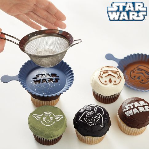 Star Wars™ Cupcake Stencil Set | Williams-Sonoma