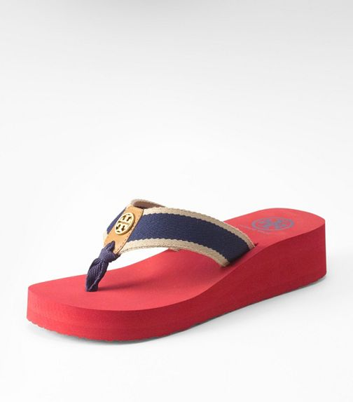 Ray Wedge Flip Flop | Womens Flip Flops | ToryBurch.com