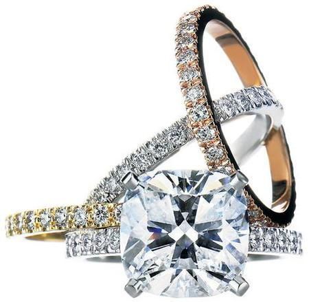 WE ARE PASSIONATE ABOUT FASHION: Delicate Tiffany Engagement Rings