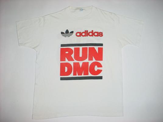 Vintage RUN DMC My Adidas T-Shirt M/L