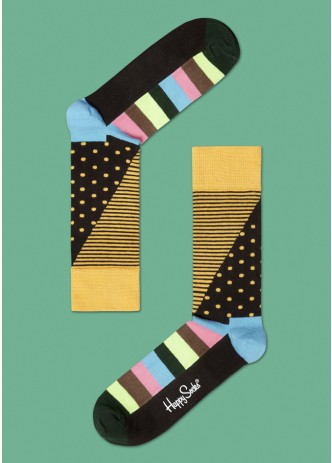 Stripes and Dots Combed Cotton