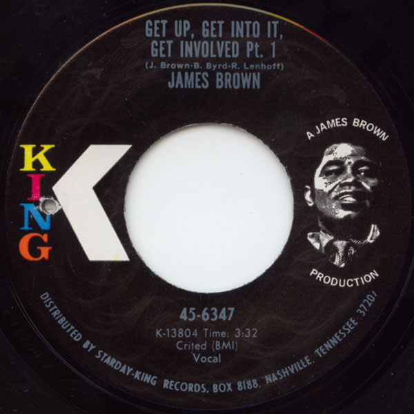 Images for James Brown - Get Up, Get Into It, Get Involved