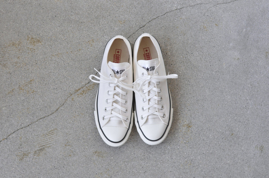 PERSICA | CANVAS ALL STAR J OX - WHITE