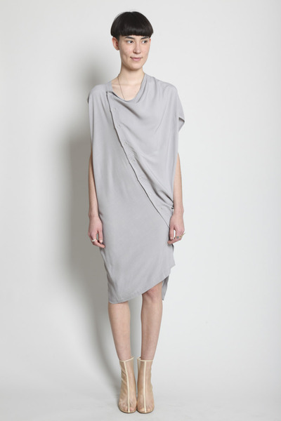 Totokaelo - Boessert Schorn - Tilted Dress - Light Grey