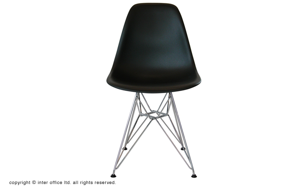 Eames Shell Side Chair DSR Chrome Base(イームズ シェルサイドチェア DSR クロームベース):hhstyle.com