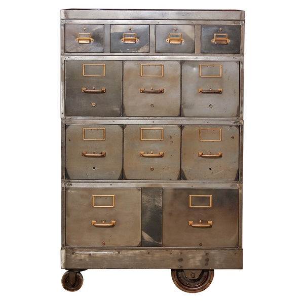 Industrial Home Decor Ideas / // cabinet