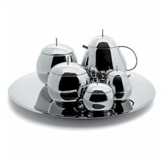 Alessi SANAA 'Fruit Basket' Tea Set by Kazuyo Sejima - alessi_Sanaa - Alessi Officina - Questo Design