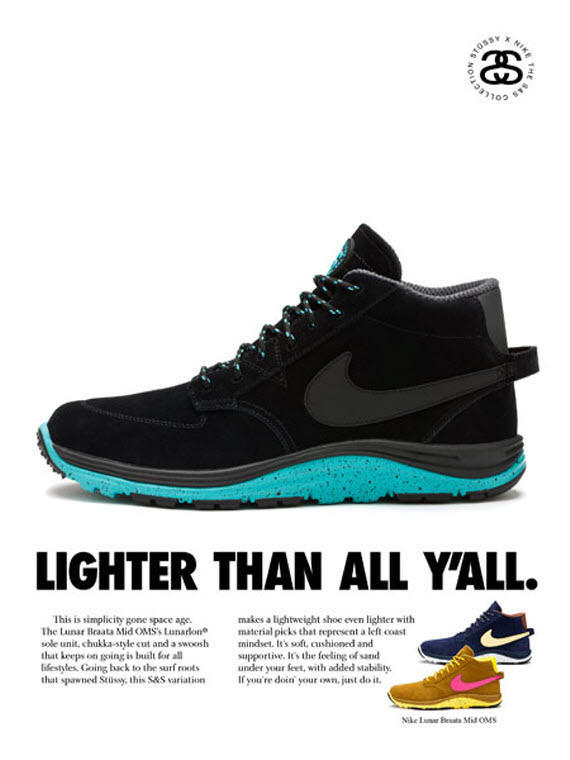Stussy x Nike Off Mountain System - S&S Collection | FreshnessMag.com