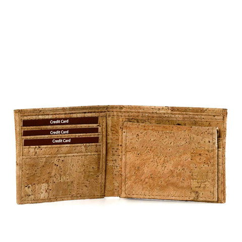 Cork Wallet Trifold | Free Shipping | Corkor.com