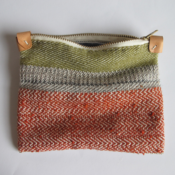 anntorian — Handwoven Zipper Pouch - Medium - No. 4