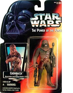 Amazon.co.jp: Star Wars Power of the Force Chewbacca Red Card Action Figure: おもちゃ