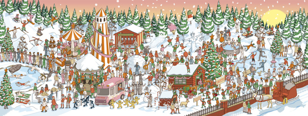Varietats: Can You Find The Hidden Claus? by Rod Hunt
