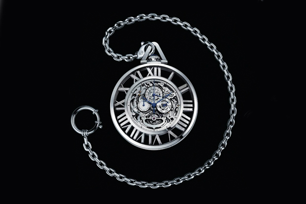 Cartier Skeleton Pocket Watch | Hypebeast