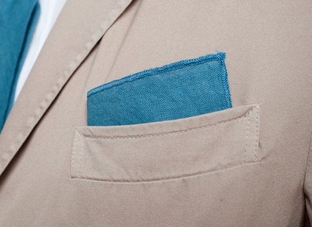 Organic Hand Dyed Pocket Square | Apolis