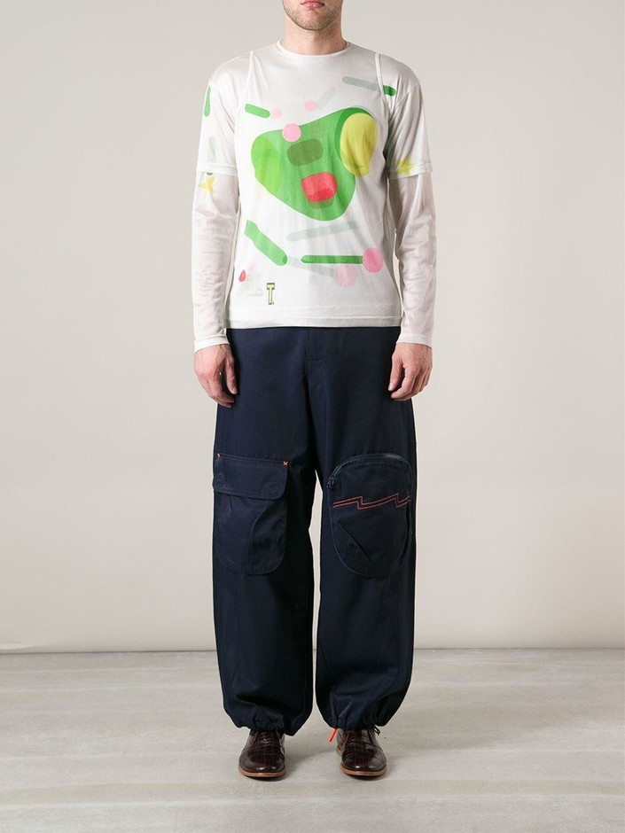 Walter Van Beirendonck Vintage ワイド パンツ - House Of Liza - Farfetch.com