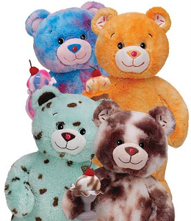 My Vegas Mommy: Baskin Robbins Bears at Build A Bear - National Ice Cream Month