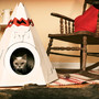 designboom shop: cat teepee by loyal luxe