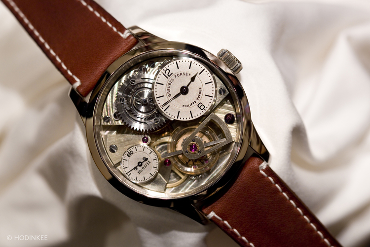Hands-On With The First Naissance d'une Montre Concept By Greubel Forsey, Philippe Dufour, And Michel Boulanger — HODINKEE - Wristwatch News, Reviews, & Original Stories