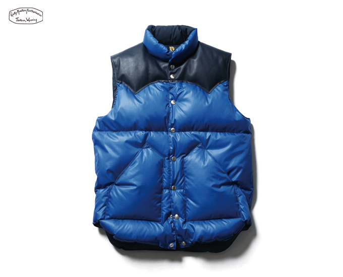 SOPHNET. | PRODUCT | ROCKY MOUNTAIN FEATHERBED DOWN VEST