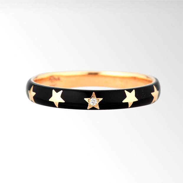STAR JEWELRY |COLOR ENAMEL RING: リング