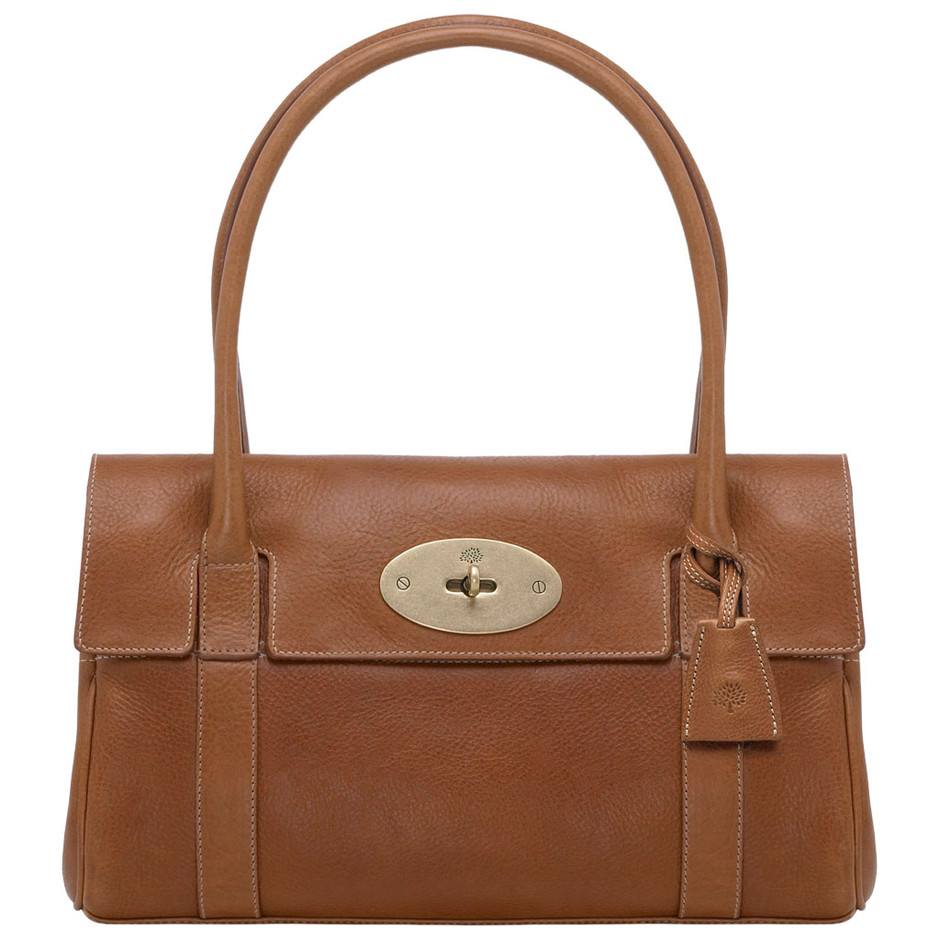 Mulberry - East West Bayswater in Oak Natural Leather