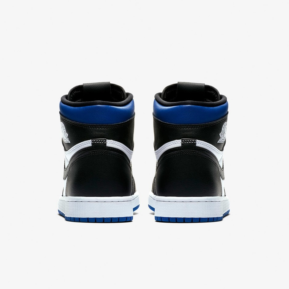 Air Jordan 1 Retro High OG (Black, White & Game Royal)