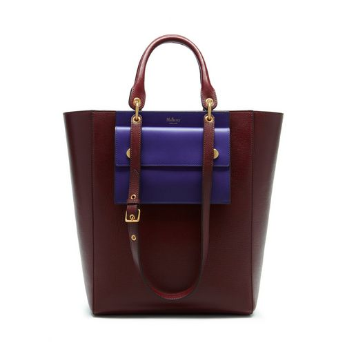 Maple in Burgundy Printed Goat | Family | Mulberry