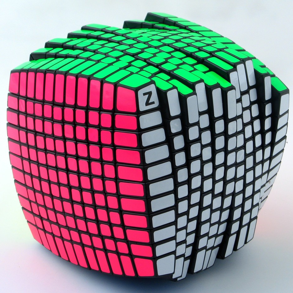 Amazon.com: Exclusive 11x11 Speed Cube Puzzle,Black 11x11x11 , Finished with Z Stickers (Full Bright): Toys & Games