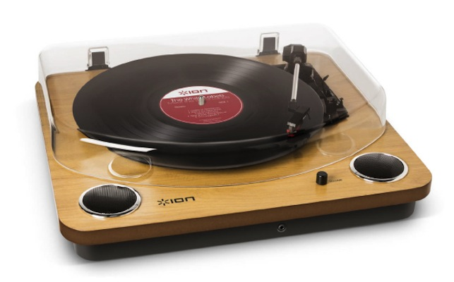Max LP - Conversion Turntable with Stereo Speakers - ION Audio - Dedicated to Delivering Sound Experiences