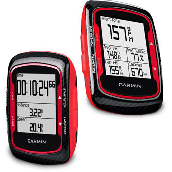Wiggle | Garmin Edge 500 Red with Premium Heart Rate and Cadence GPS-サイクリング