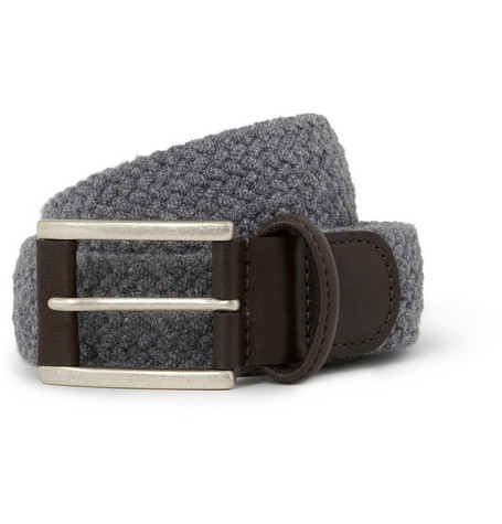 Anderson's Elasticated Woven Belt | MR PORTER