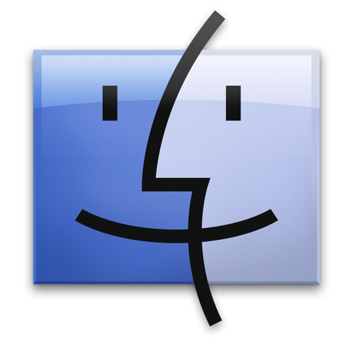 heltering: The inspiration behind the Apple Finder icon