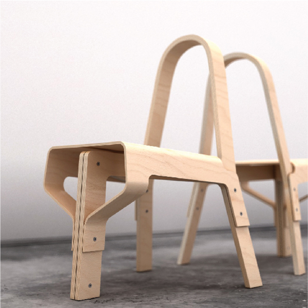 Wood Chair for Art On Chairs Competition . 2012 on Behance