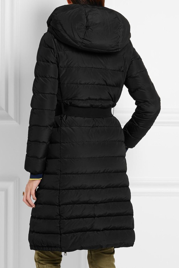 Moncler | Imin belted quilted shell down coat | NET-A-PORTER.COM