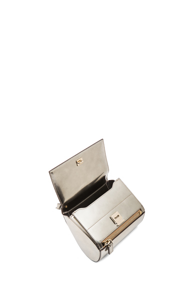 GIVENCHY|Mini Pandora Box in Gunmetal