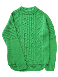 LOVE online store|MEN  Duck Tale Allan Crew Sweater (green)