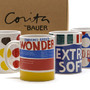 Corita Wonder Bread Mugs - Set of Four