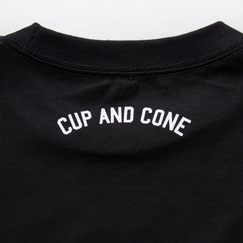 Long Sleeve Tee - Black - cup and cone WEB STORE