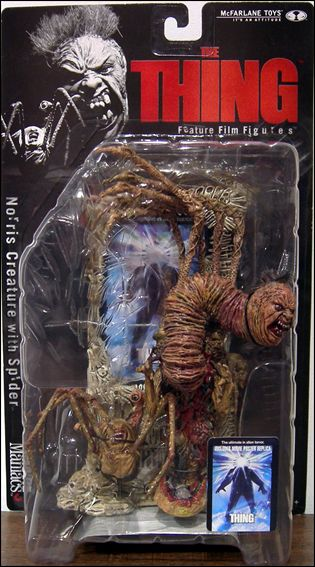Movie Maniacs Norris Creature with Spider (The Thing), Jan 2000 Action Figure by McFarlane Toys