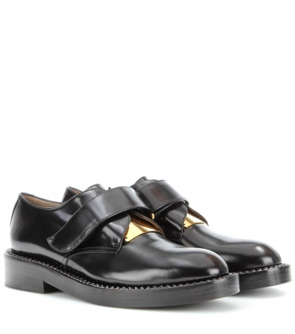 mytheresa.com - Leather laceless oxfords - Loafers & Moccasins - shoes - Luxury Fashion for Women / Designer clothing, shoes, bags