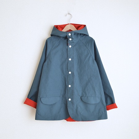 Two Tone BD JACKET  Red × Navy
