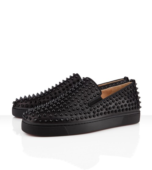 Christian Louboutin 2012 Rollerboat Flat in Black | Hypebeast