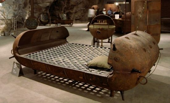 Furniture made from old Soviet naval mines looks pretty dangerous | DVICE
