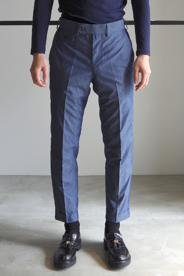 ANKLE TROUSERS / TWILIGHT - RAINMAKER KYOTO ONLINE