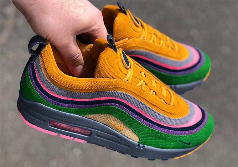 Nike Air Max 1/97 Eclipse Mache Customs - Sneaker Bar Detroit