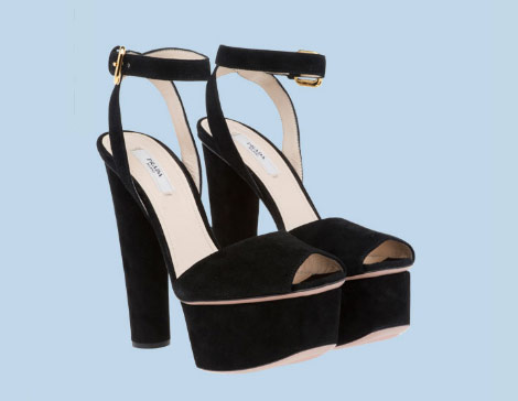 Prada Black Suede Platform Sandals, My Favorites This Season — StyleFrizz