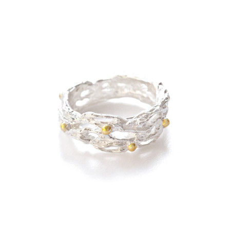 Linger Ring - Silver & Gold