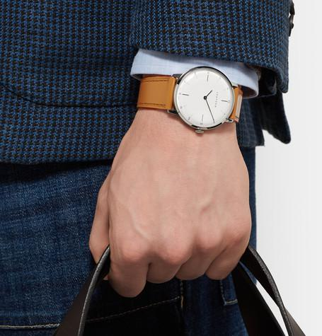 Sekford - Type 1A Stainless Steel and Leather Watch